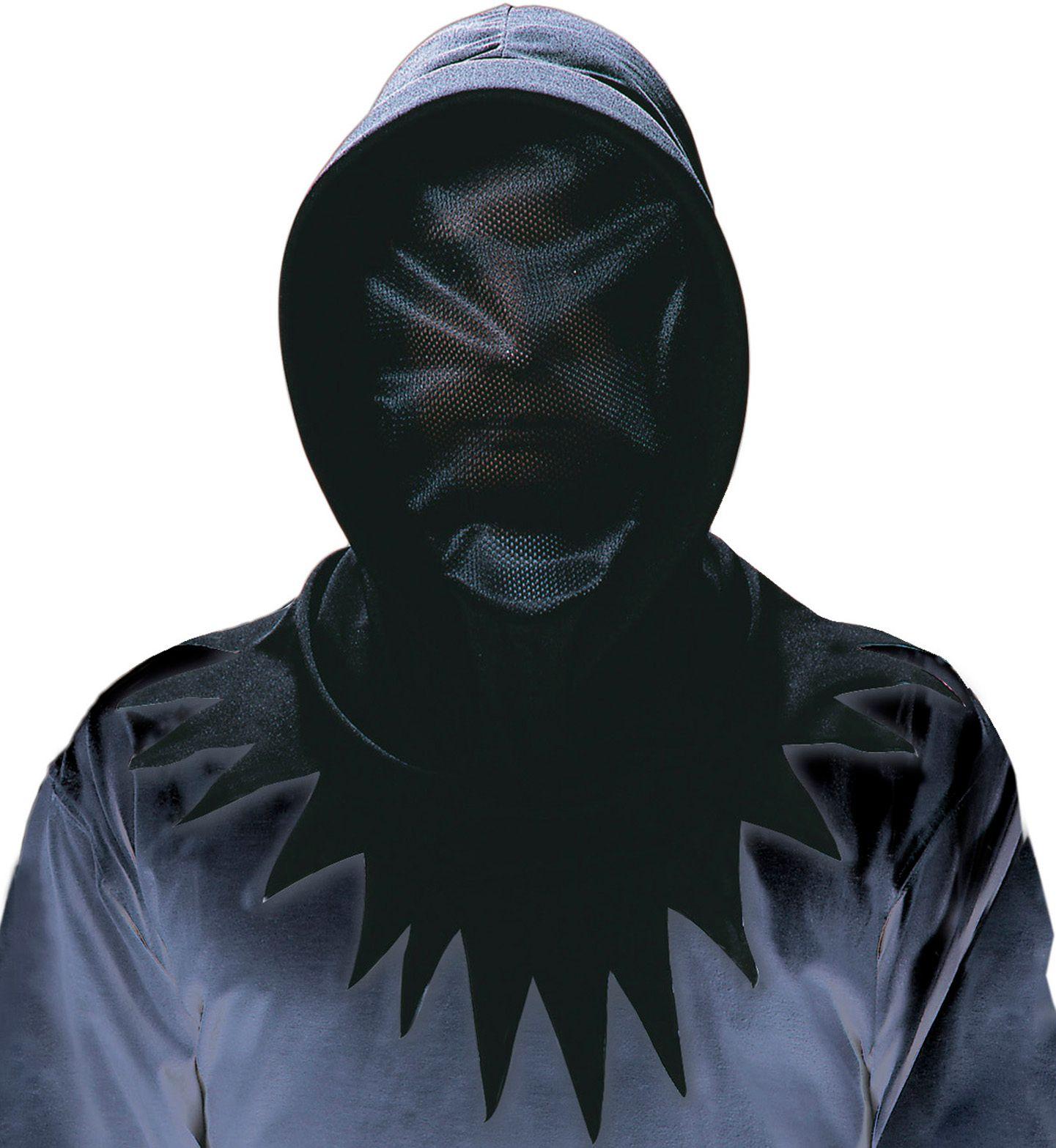 Zwart gezichtsbedekking masker