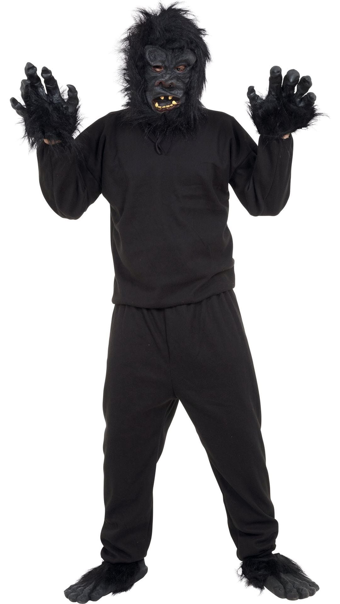 Zwart gorilla pak