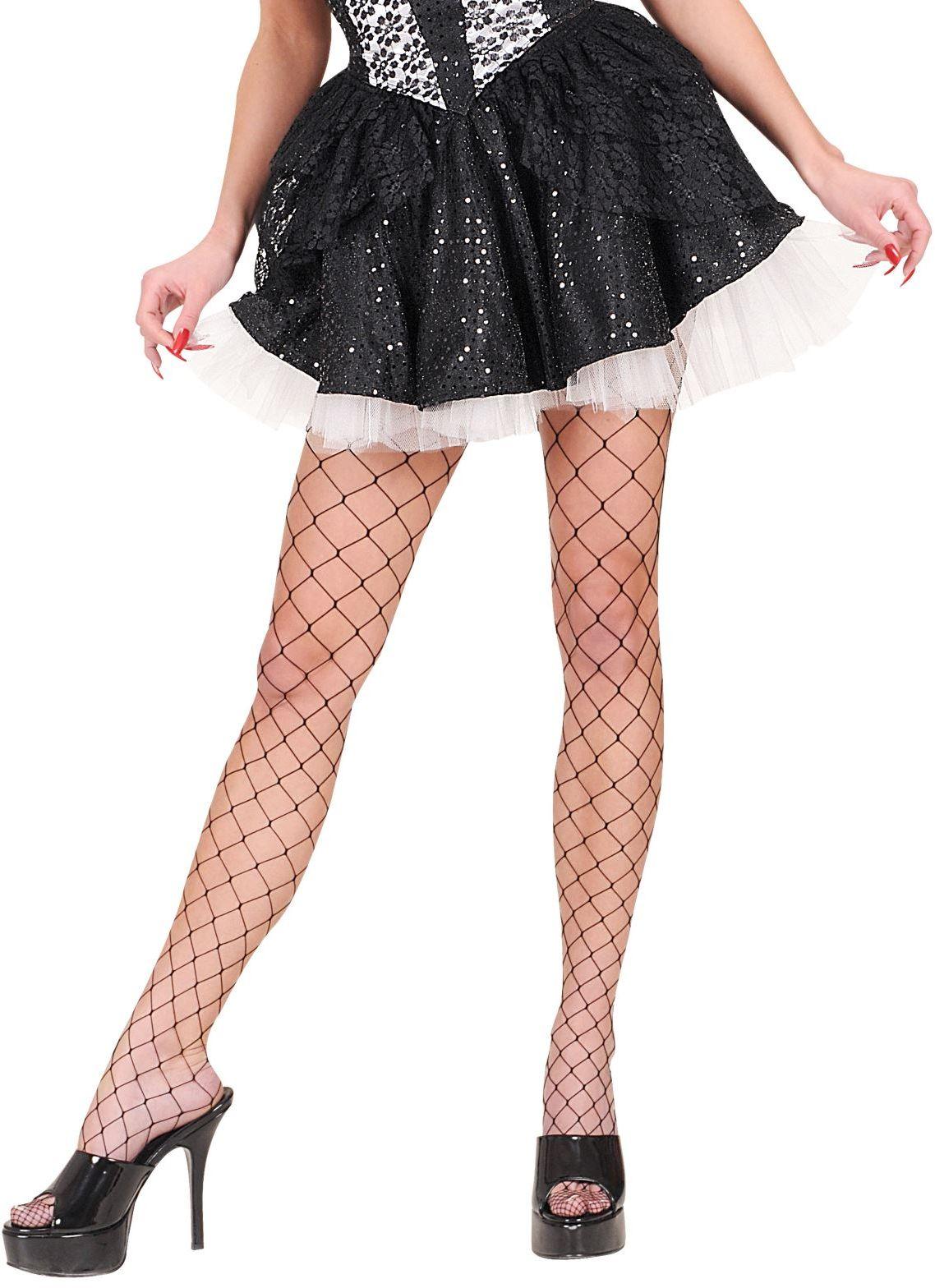 Zwart kanten rokje met petticoat