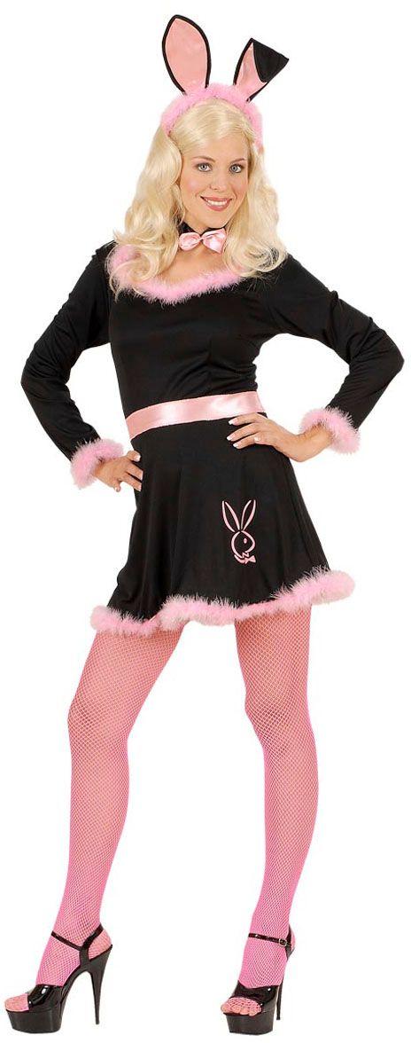 Zwart konijnen kostuum