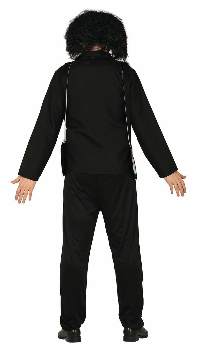 Zwart met paars Saw kostuum