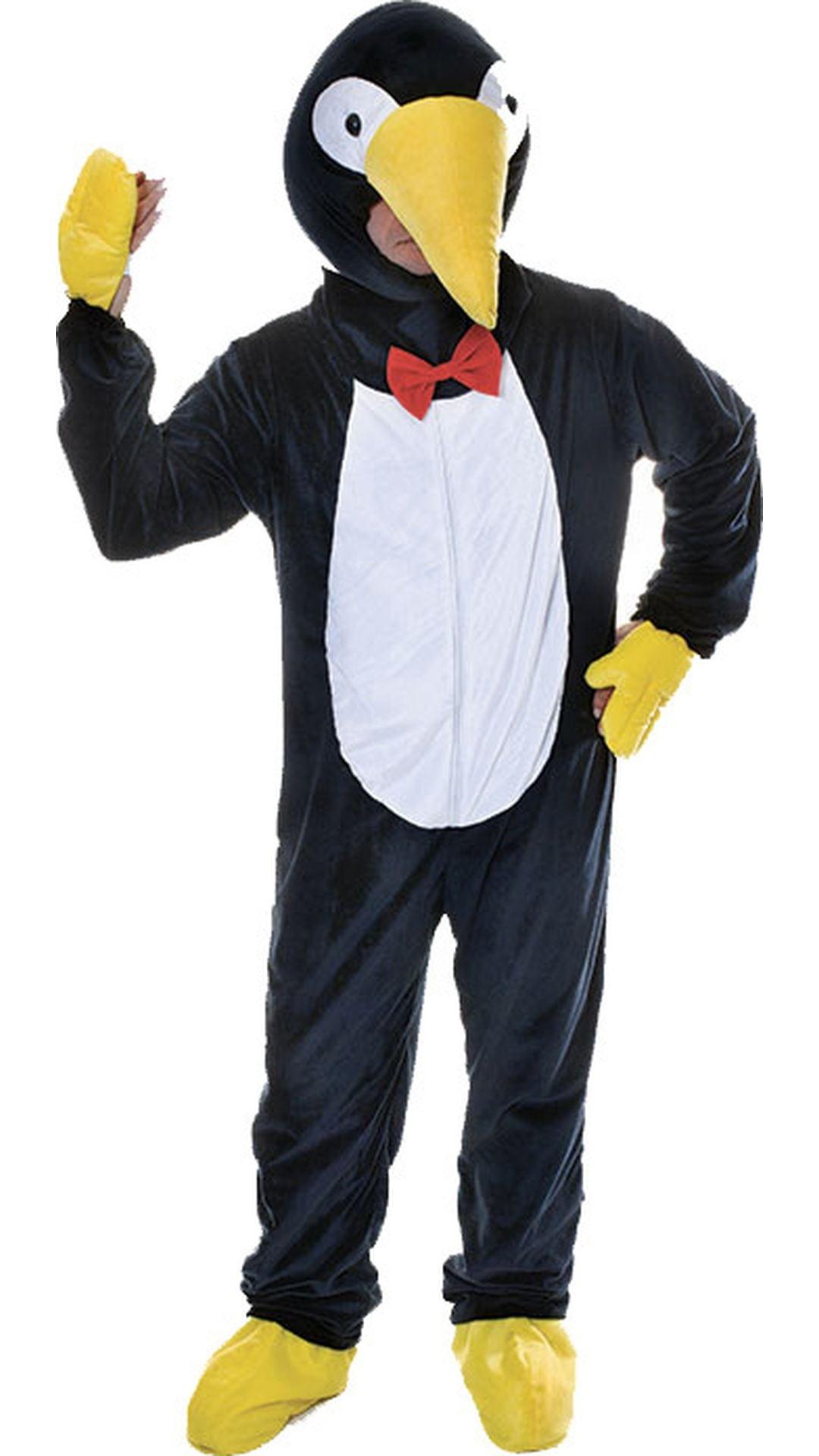 Zwart pinguïn pak