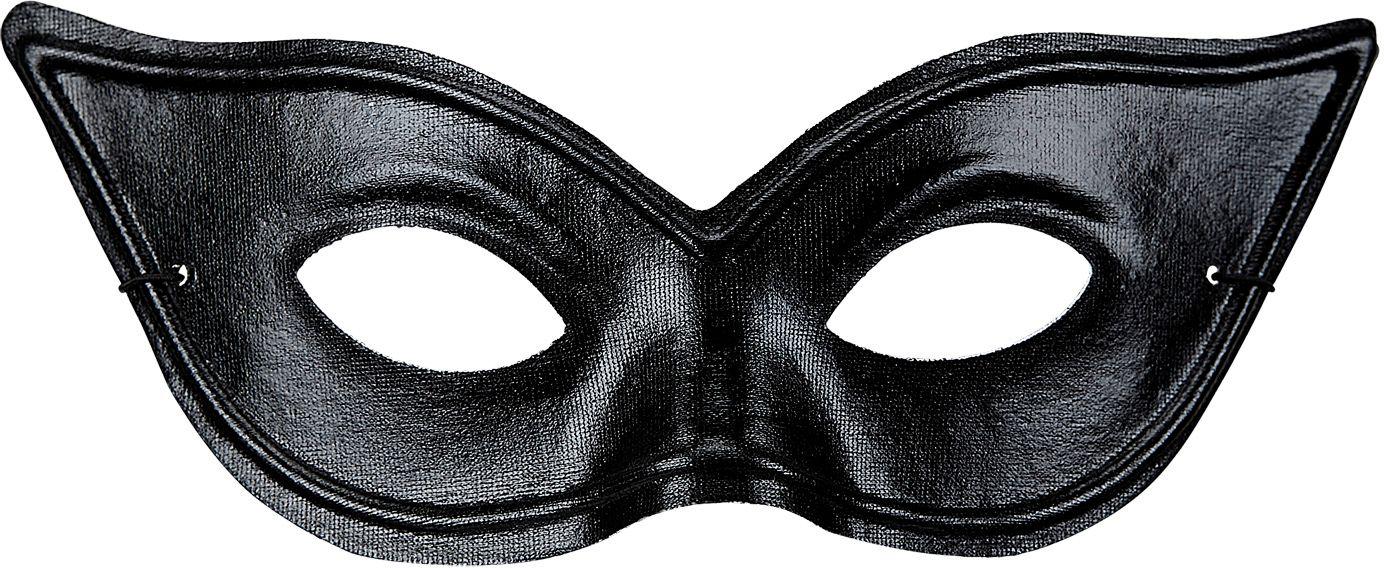 Zwart SM oogmasker