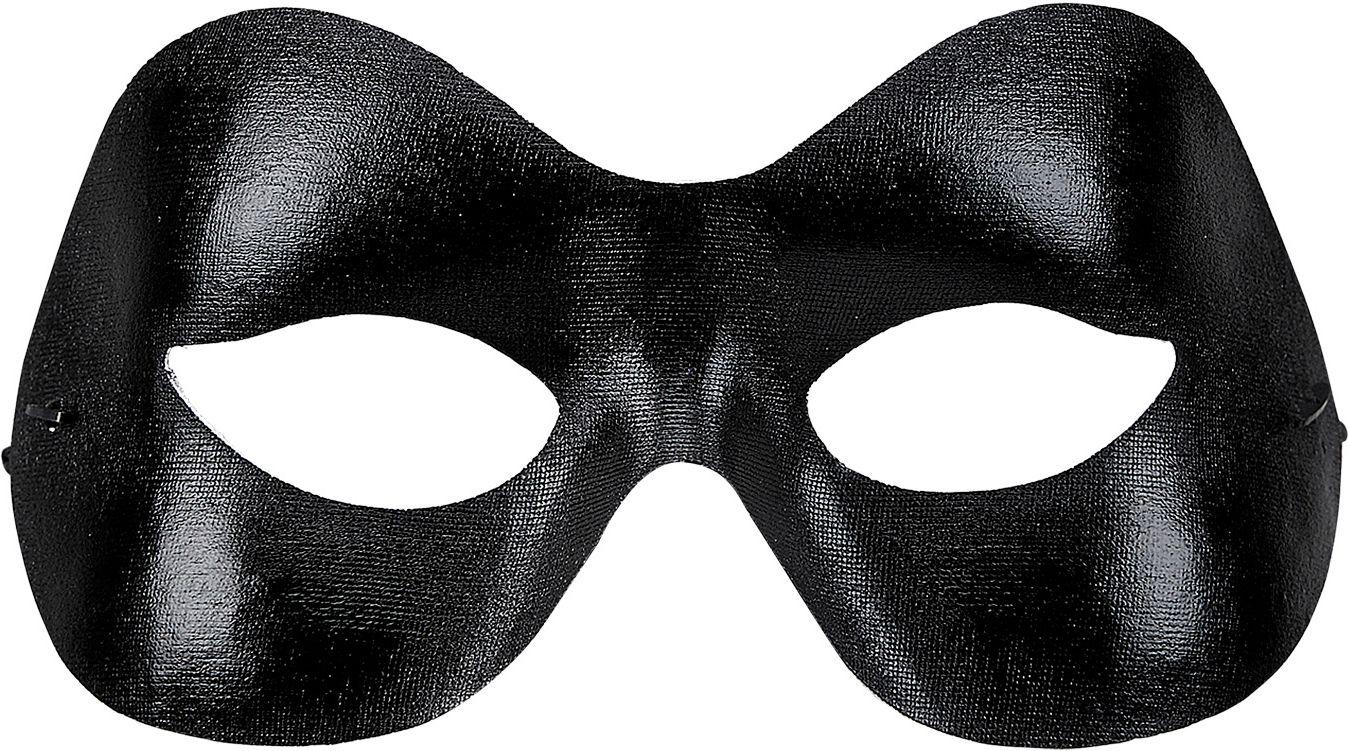 Zwart uniseks SM oogmasker