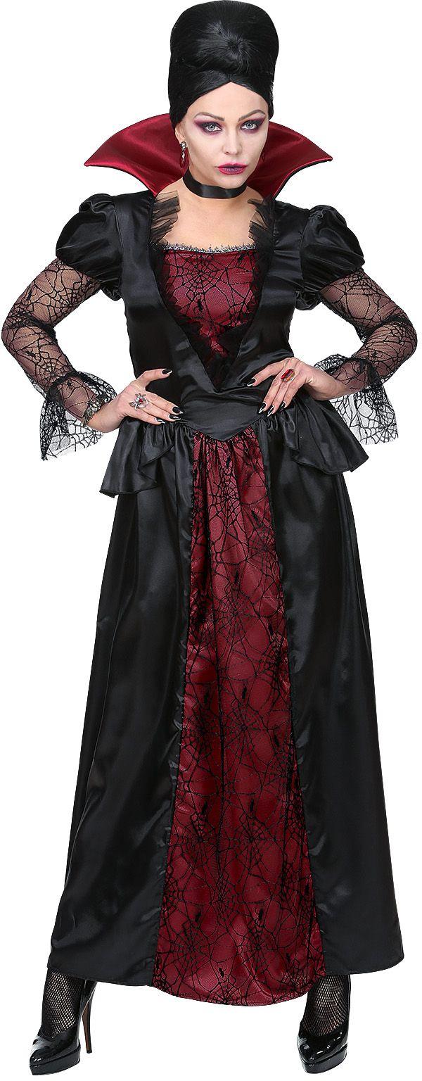 Zwart vampieren kostuum vrouwen