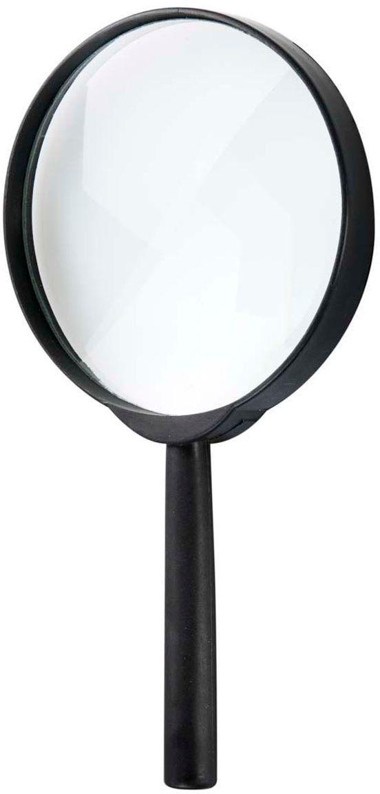 Zwart vergrootglas