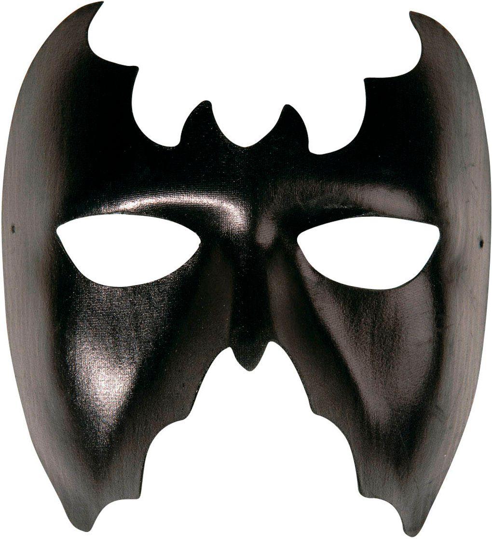 Zwart vleermuizen oogmasker