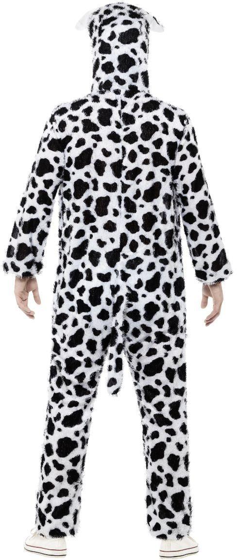 Zwart witte dalmatier onesie