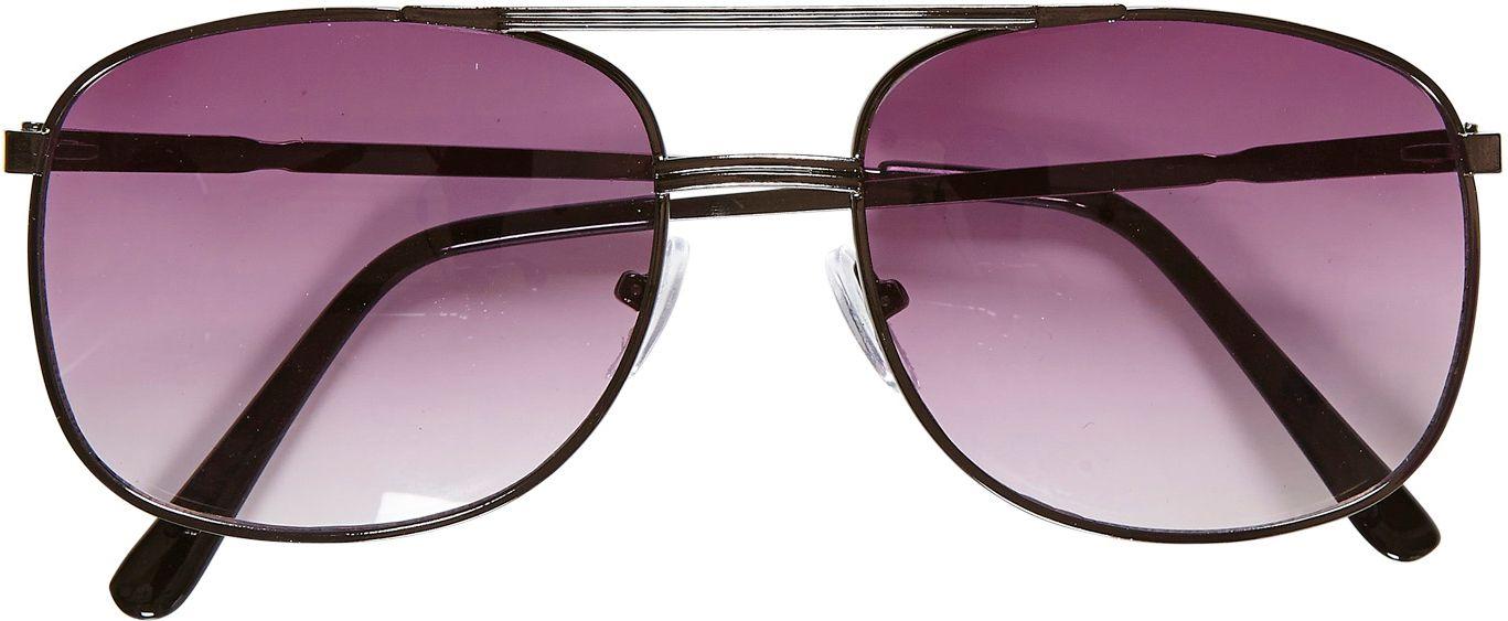 Zwarte 80s bril