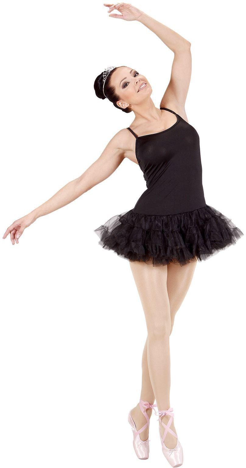 Zwarte ballerina jurk
