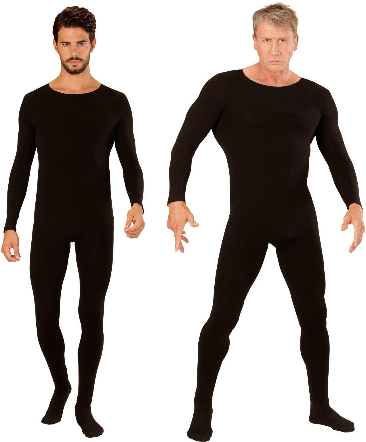 Zwarte bodysuit heren
