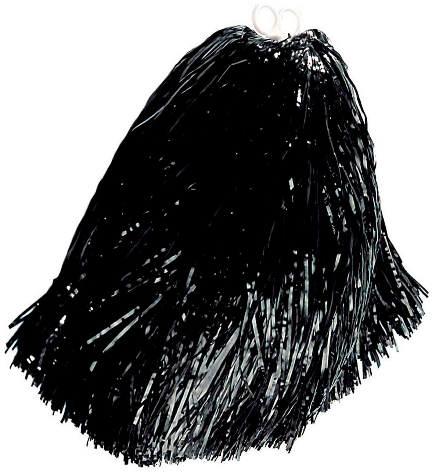 Zwarte cheerleader Pom Pom