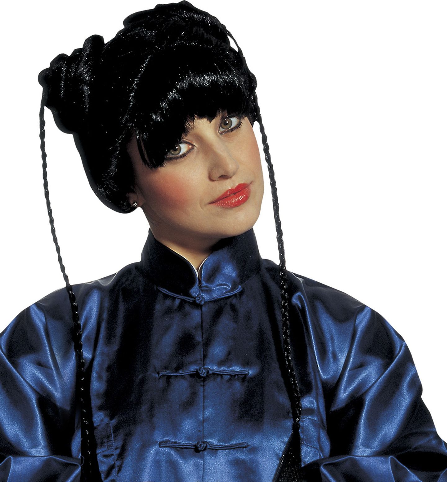 Zwarte chinese kyoto pruik