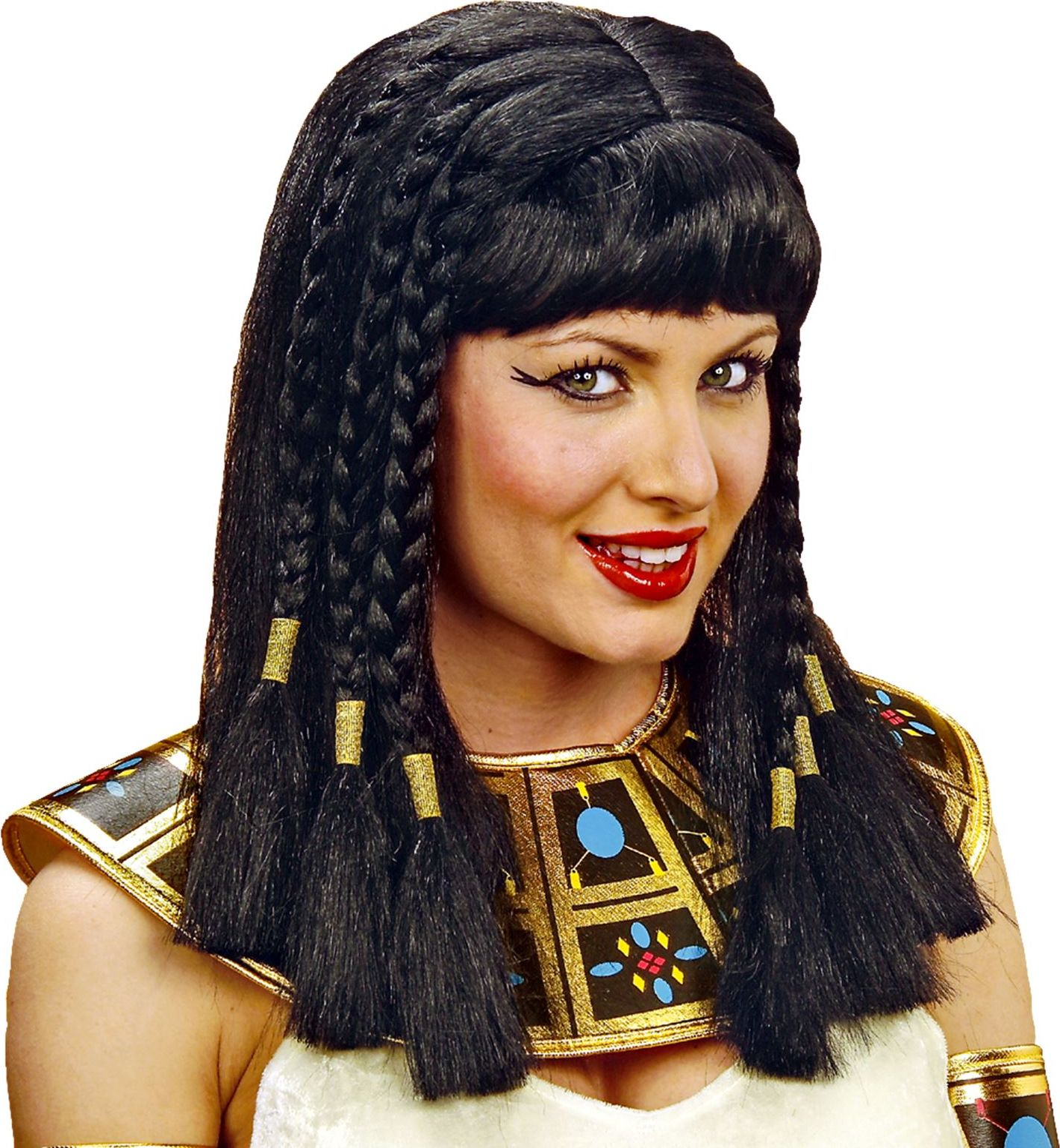Zwarte Cleopatra pruik