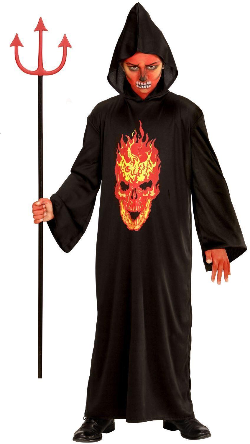 Zwarte duivel skelet