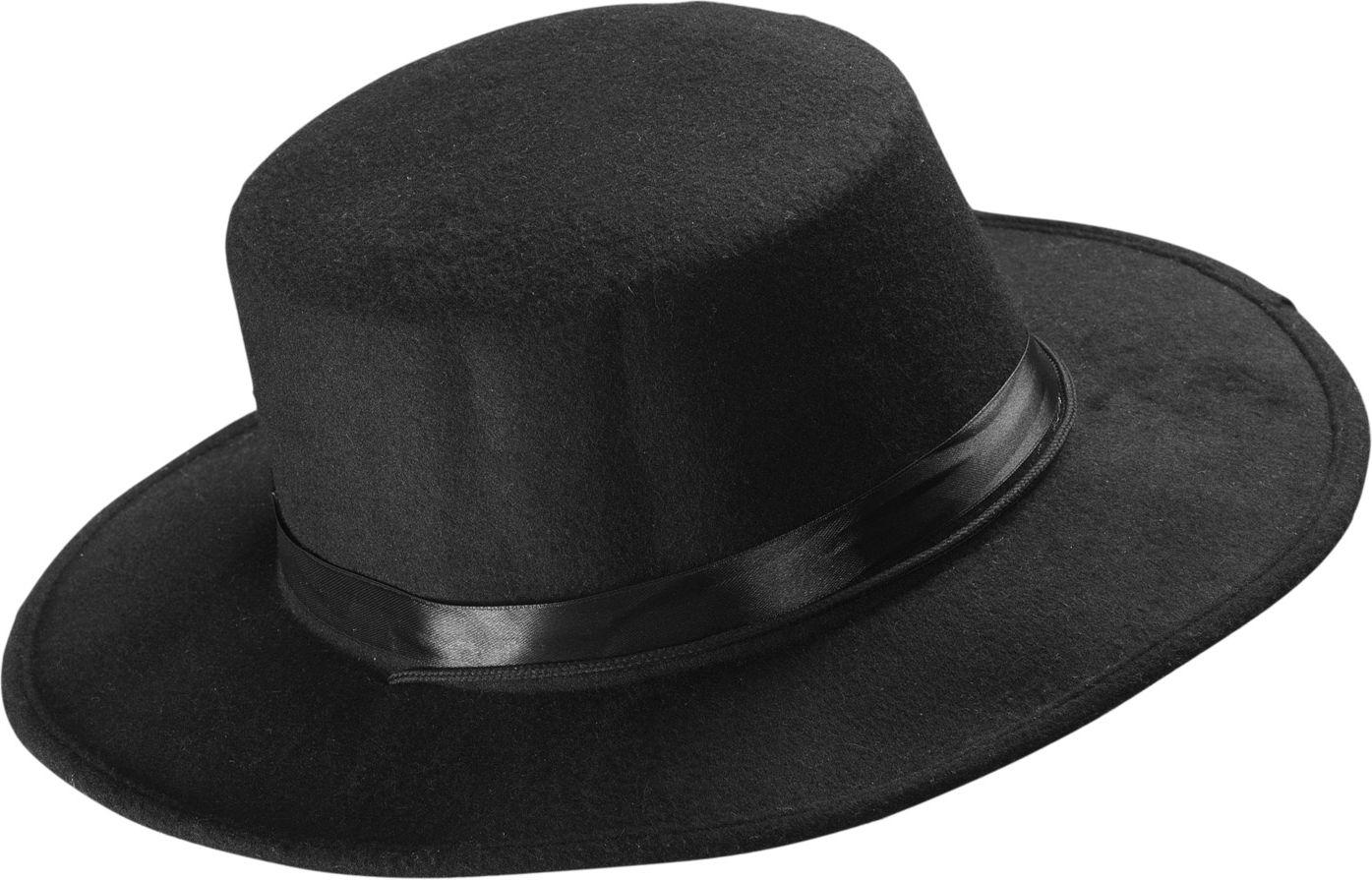 Zwarte El Gaucho hoed