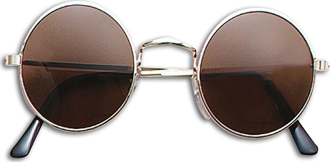 Zwarte John Lennon bril