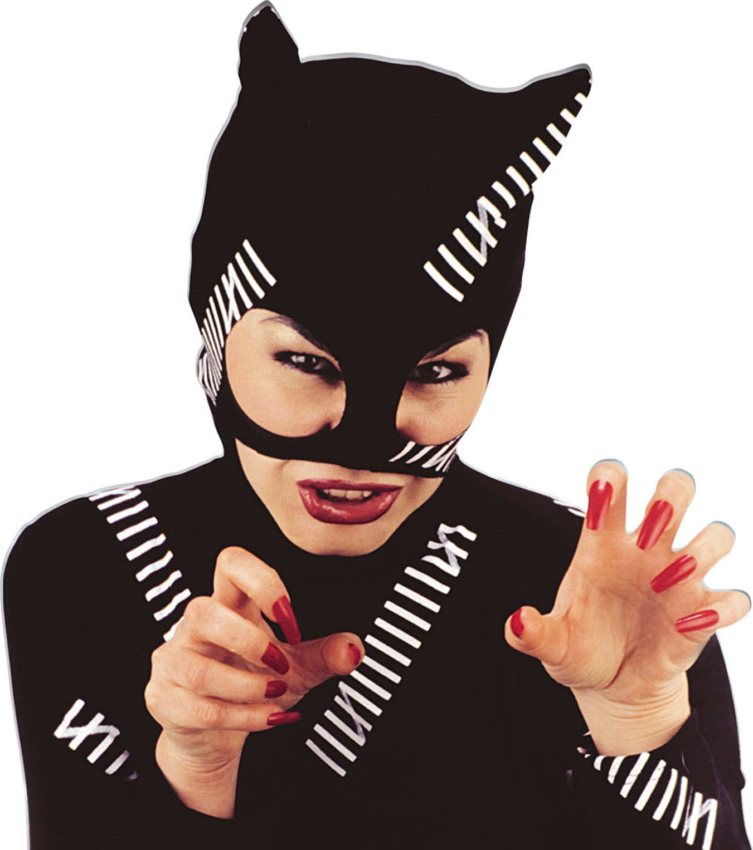 Zwarte kat muts