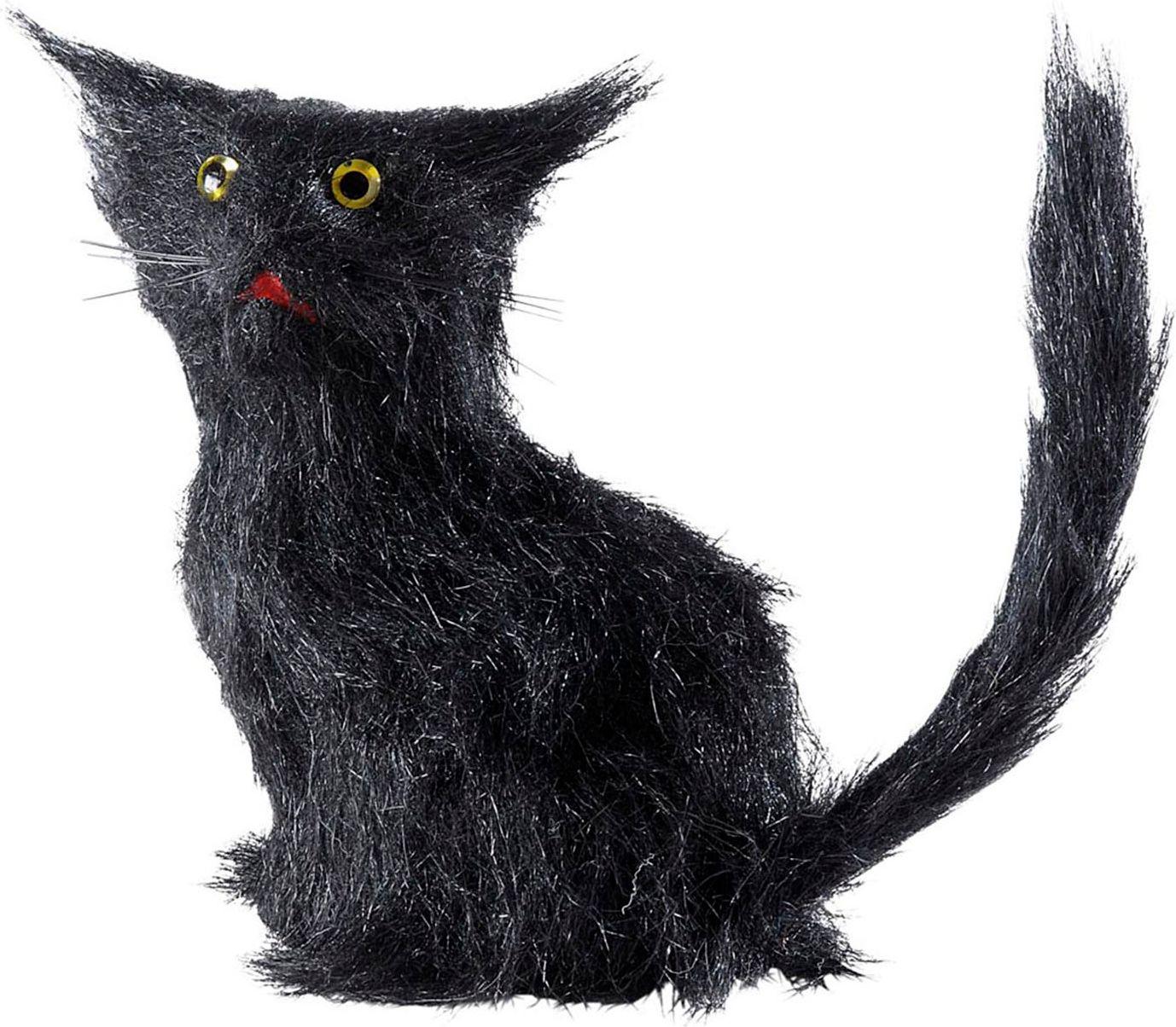 Zwarte katten set 12 stuks