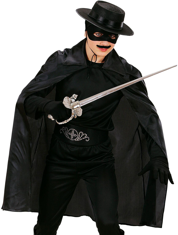 Zwarte kinder cape