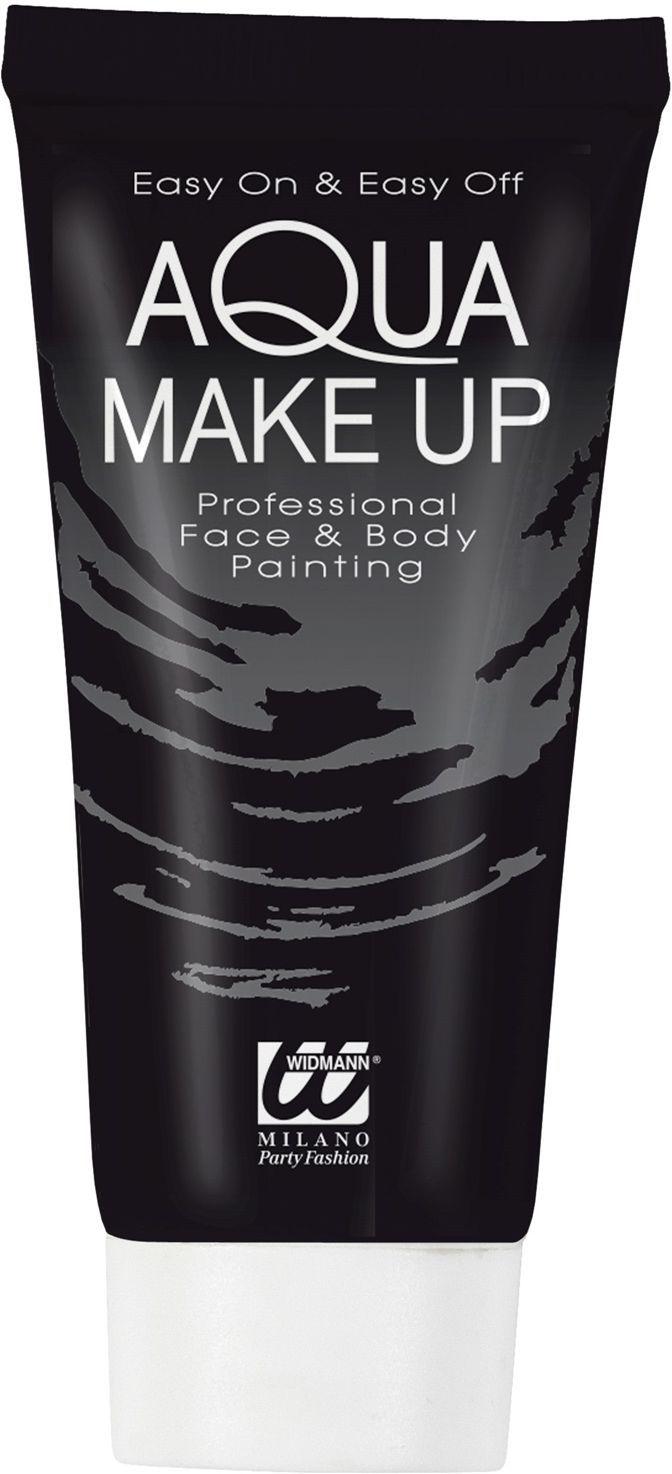 Zwarte make-up tube waterbasis
