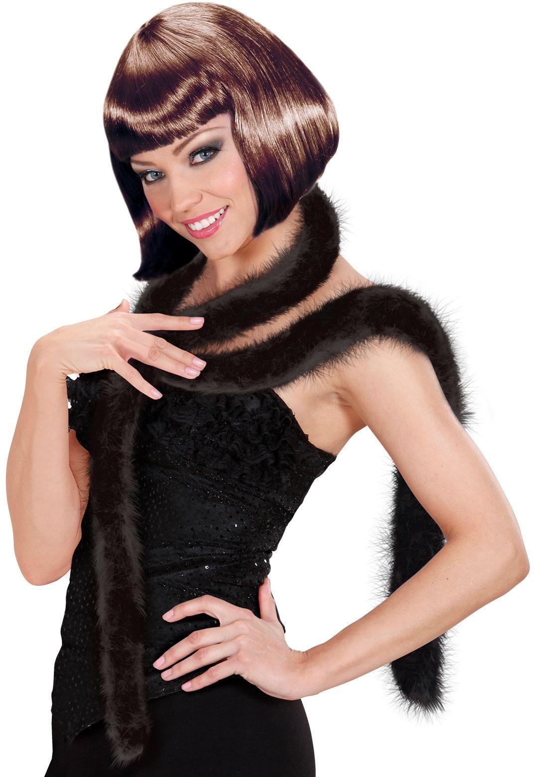 Zwarte marabou boa