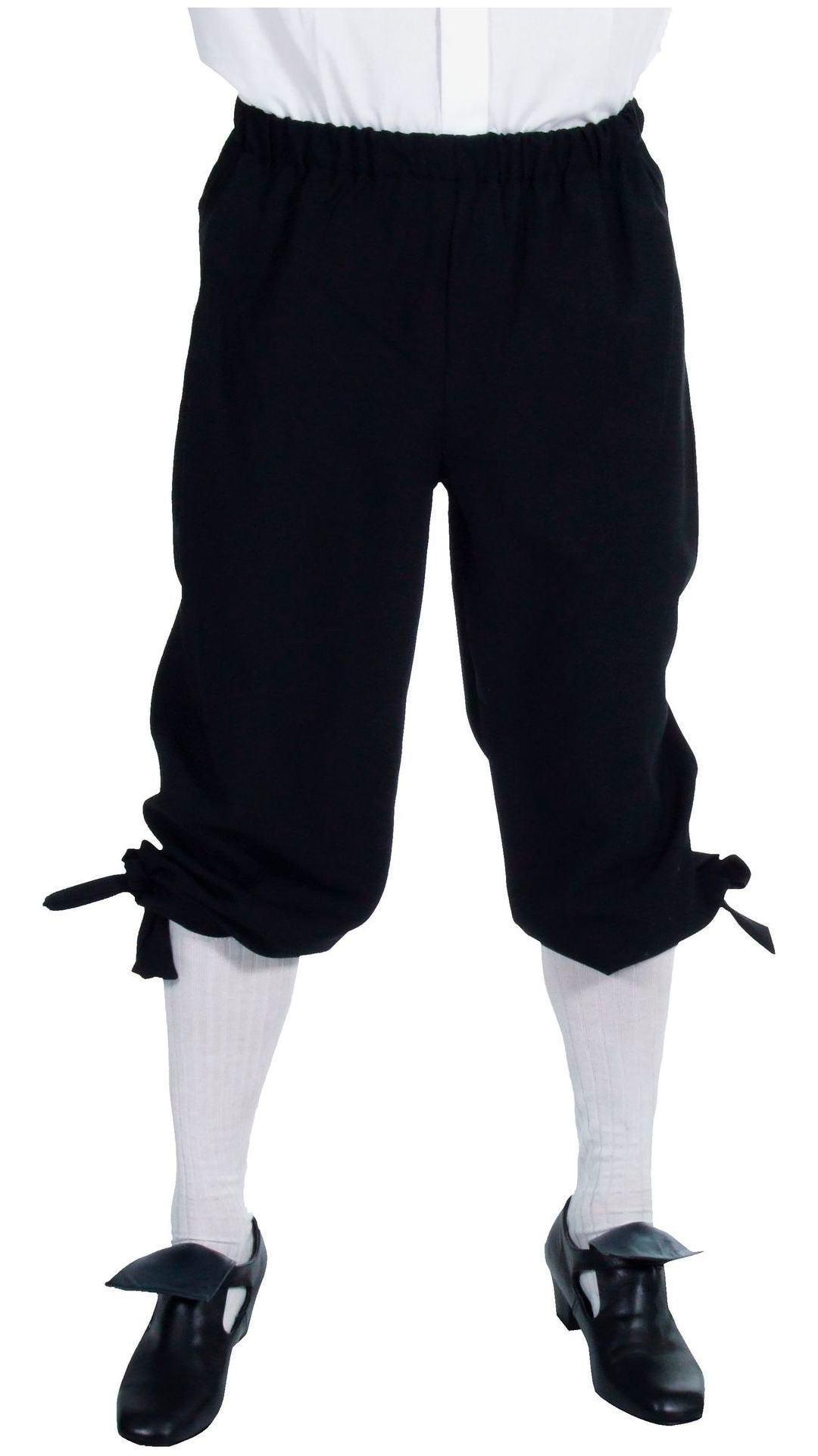 Zwarte markies broek mannen