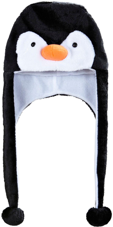 Zwarte pinguïn muts