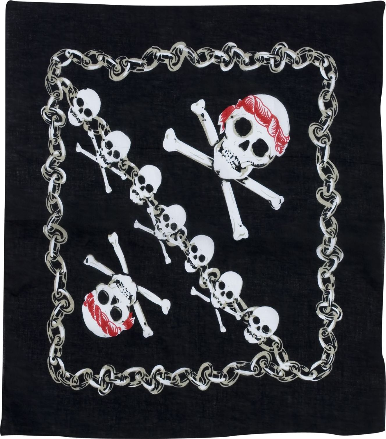 Zwarte piraten bandana