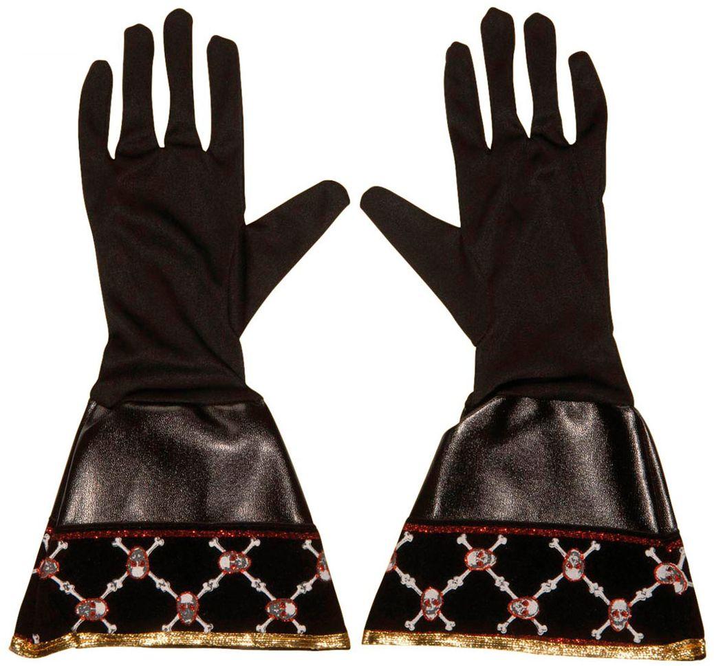 Zwarte piraten handschoenen
