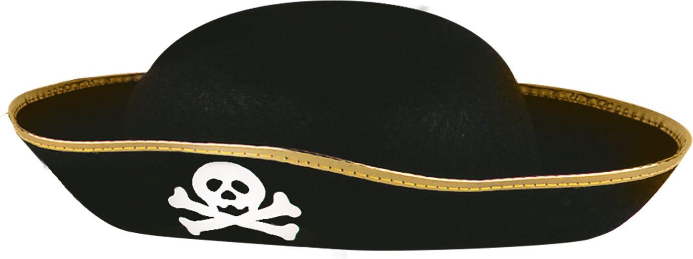 Zwarte piraten hoed kind