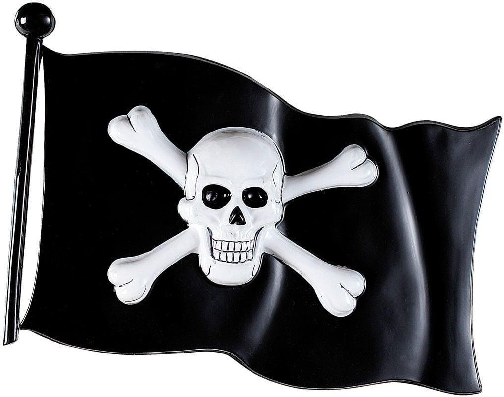 Zwarte piratenvlag