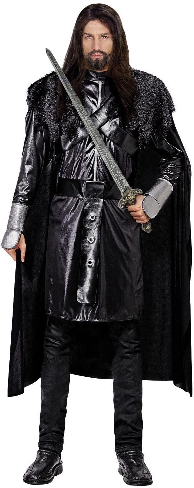 Zwarte ridder kostuum