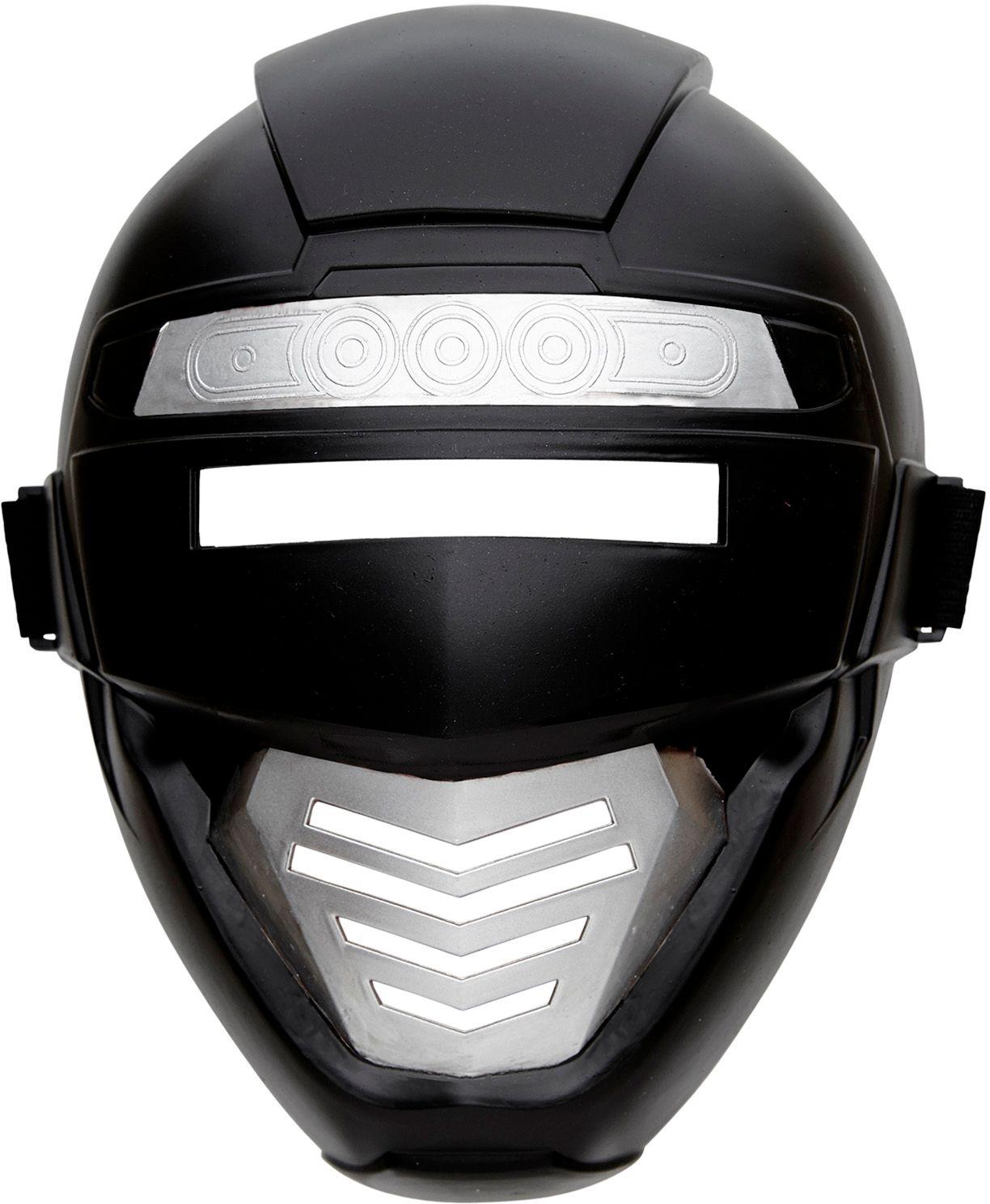Zwarte robot masker