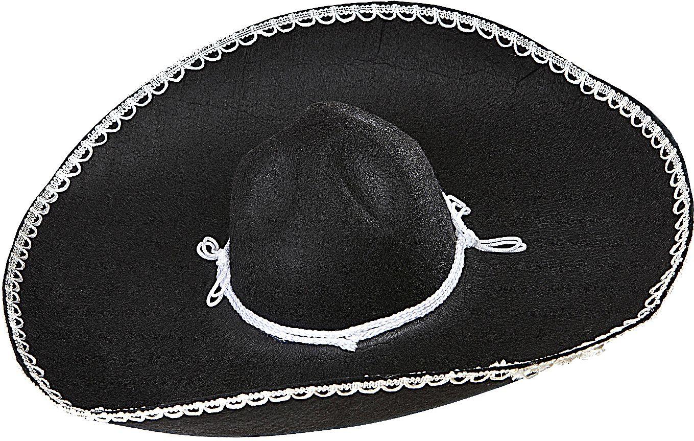 Zwarte sombrero