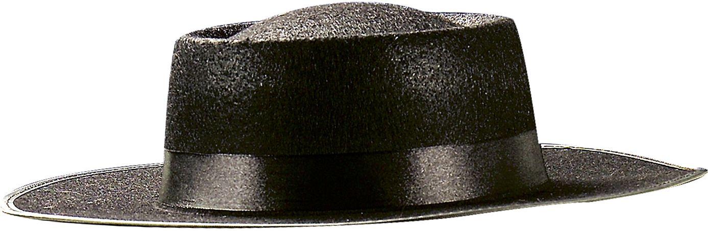 Zwarte spaanse Zorro hoed