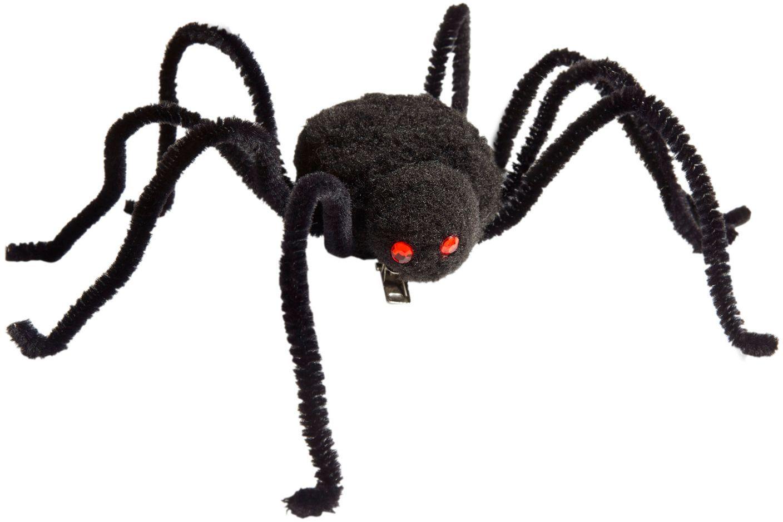Zwarte spin haarclip