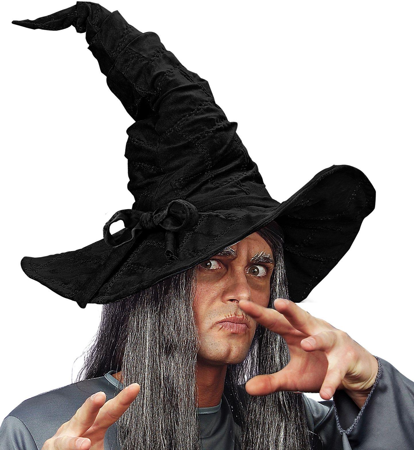 Zwarte tovenaarshoed
