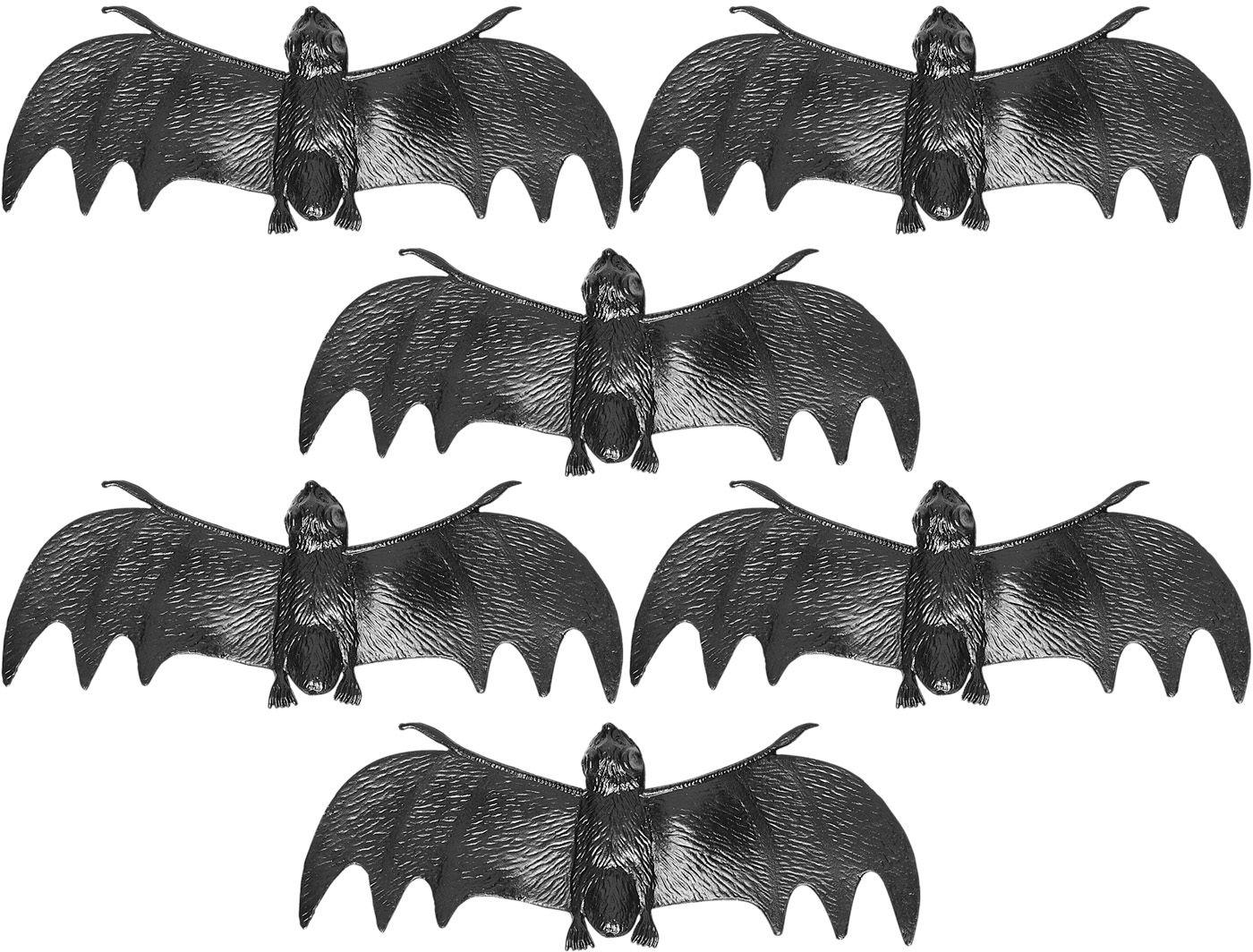 Zwarte vleermuizen decoratie