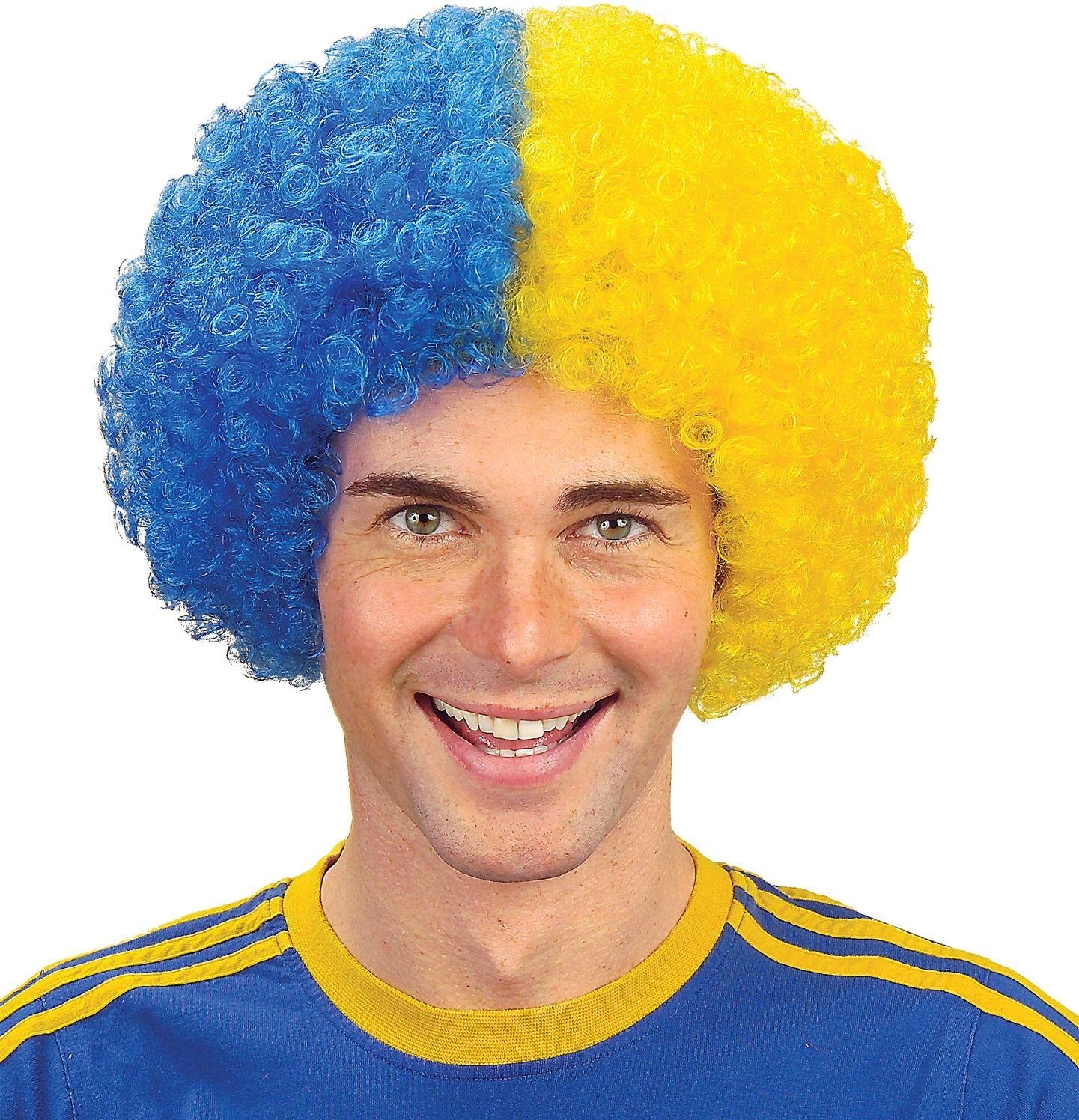 Zweden supporters pruik