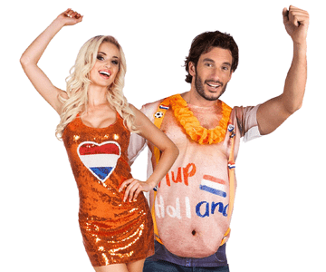 Oranje supporters kleding