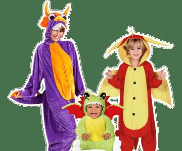 Draak kostuum