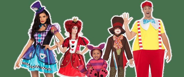 Alice in wonderland kostuum