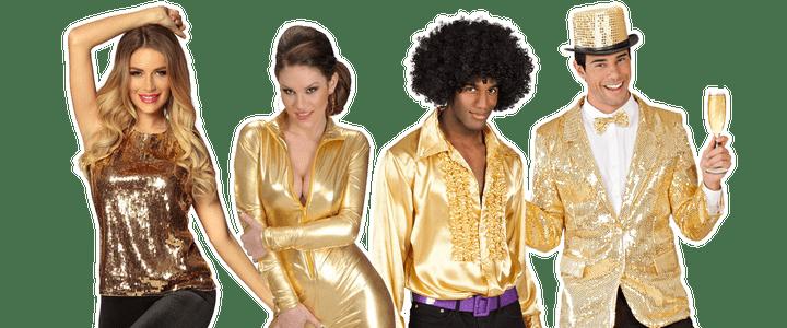 Gouden kostuums