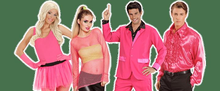 Roze kostuums