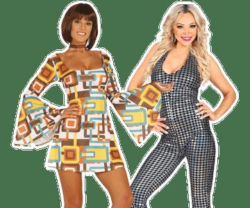 Disco kleding dames