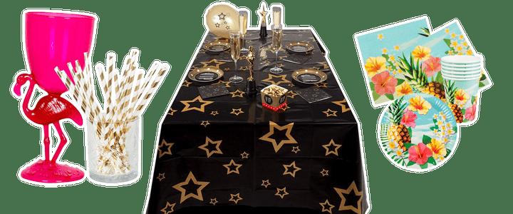 Tafel decoratie feest
