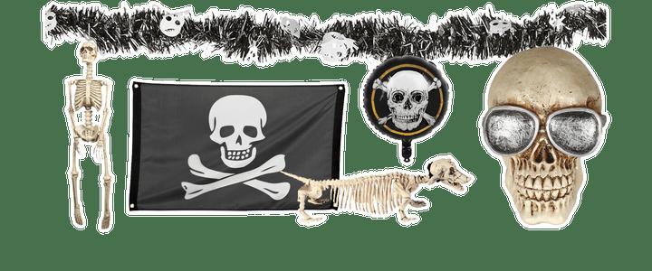 Skelet decoratie