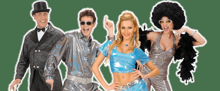 Glitter kostuums