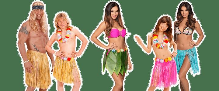 Hawaii rokje
